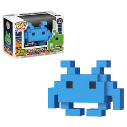 Space Invaders Funko Pop! Medium Invader (Blue) #33 (Pre-Order)