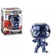 Justice League Funko Pop! The Flash (Blue Chrome) #208