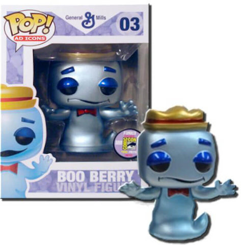Ad Icons Funko Pop! Boo Berry (Metallic) #03