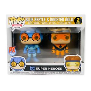 DC Super Heroes Funko Pop! Blue Beetle & Booster Gold (2-Pack)