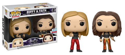 Buffy the Vampire Slayer Funko Pop! Buffy & Faith (Shared Sticker)