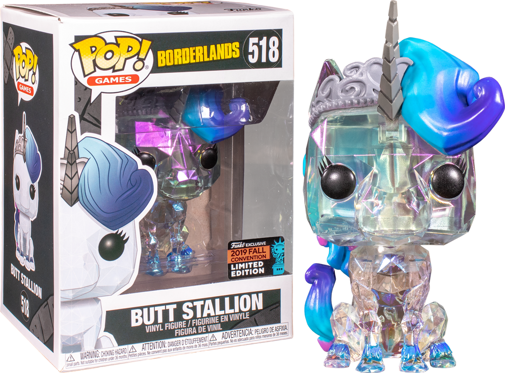 Borderlands Funko Pop Butt Stallion Shared Sticker 518
