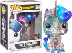 Borderlands Funko Pop! Butt Stallion (Shared Sticker) #518
