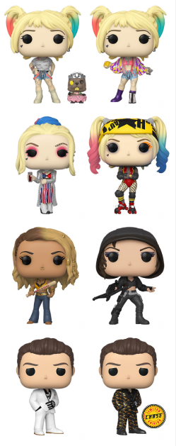 Birds of Prey Funko Pop! Complete Set of 8 (Pre-Order)