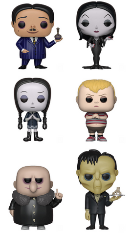 The Addams Family Funko Pop! Complete Set of 6 (2019) (Pre-Order)