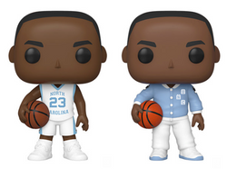 College Basketball UNC Funko Pop! Michael Jordan Complete Set of 2 (Pre-Order)