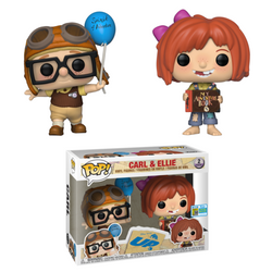 UP! Funko Pop! Carl & Ellie (Shared Sticker) (2-Pack)