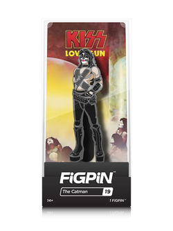 KISS FiGPiN The Catman Collector Case #19