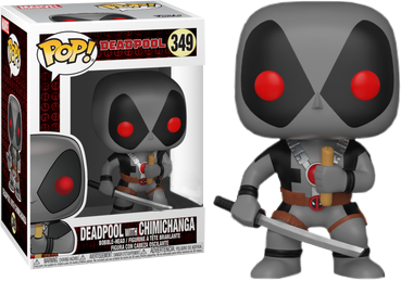 Deadpool Funko Pop Deadpool With Chimichanga 349 Big