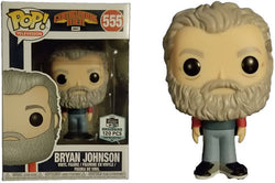 Comic Book Men Funko Pop! Bryan Johnson (Signed) #555