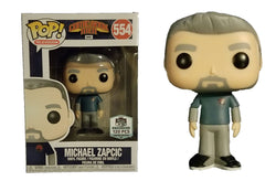Comic Book Men Funko Pop! Michael Zapcic (Signed) #554