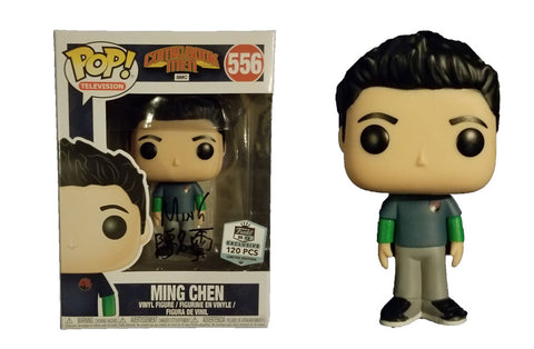 Comic Book Men Funko Pop! Ming Chen (Signed) #556