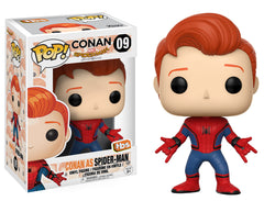 Conan O'Brien Funko Pop! Conan as Spider-Man #09