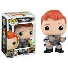 Conan O'Brien Funko Pop! Ghostbuster Conan #07