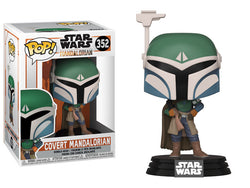 Star Wars: The Mandalorian Funko Pop! Covert Mandalorian #352