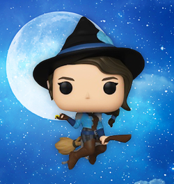 Critical Role Funko Pop! Vex'Ahlia (on Broom) (2020 Shared Sticker) #603 (Pre-Order)