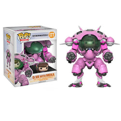 Overwatch Funko Pop! D.Va with MEKA 6in #177