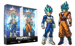 Dragon Ball Z FiGPiN XL SSGSS Vegeta #X18 and SSGSS Goku #X19