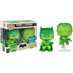 DC Heroes Funko Pop! Batman vs Superman (GITD) (2-Pack)