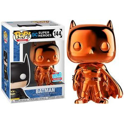 DC Super Heroes Funko Pop! Batman (Orange) (Chrome) (Shared Sticker) #144