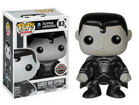 DC Super Heroes Funko Pop! Blackest Night Superman