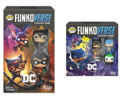 DC Funko Funkoverse Strategy Game Complete Set of 2