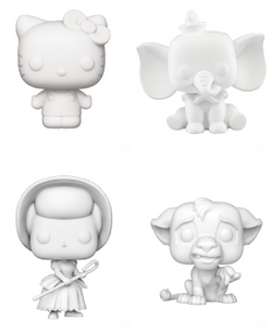 DIY Funko Pop! Complete Set of 4 (Pre-Order)