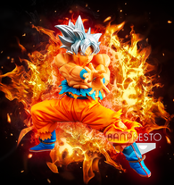 Dragon Ball Super Banpresto Goku Ultra Instinct (Kamehameha) (The Super Warriors) 7in Figure (Pre-Order)