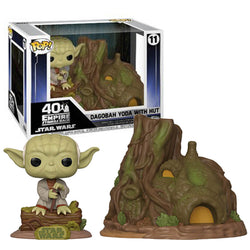 Dagobah Yoda with Hut (town) #11