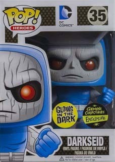 DC Super Heroes Funko Pop! Darkseid (GITD) #35