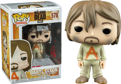 The Walking Dead Funko Pop! Daryl Dixon (Prison Suit) #578