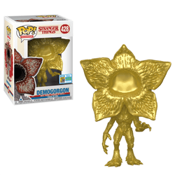 Stranger Things Funko Pop! Demogorgon (Gold) (Shared Sticker) #428 (Pre-Order)