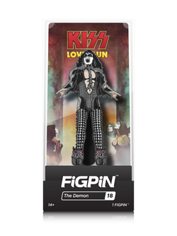 KISS FiGPiN The Demon Collector Case #18