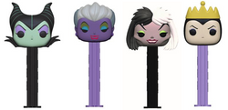 Disney Funko Pop! Pez Villains Complete Set of 4 (Pre-Order)
