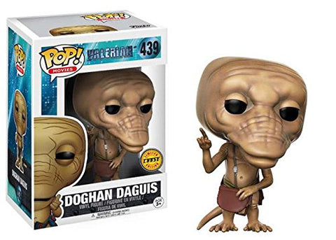 Valerian Funko Pop! Doghan Daguis (Brown Bag) CHASE #439