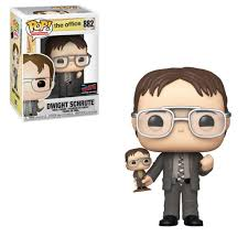 The Office Funko Pop! Dwight (with Bobblehead) (Shared Sticker) #882