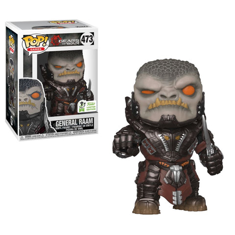 Gears of War Funko Pop! General Raam (Shared Sticker) #473 (Pre-Order)