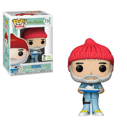 Life Aquatic Funko Pop! Steve (with Boat) (Shared Sticker) #714