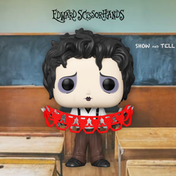 Edward Scissorhands Funko Pop! Edward Scissorhands (with Kirigami) (Pre-Order)