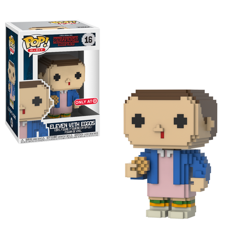 8-Bit Funko Pop! Eleven with Eggos #16