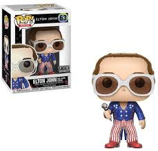 Pop Rocks Funko Pop! Elton John (Red, White, Blue) (Glitter) #63