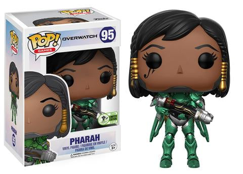 Overwatch Funko Pop! Pharah (Emerald) (Convention Sticker)
