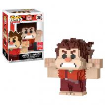 Wreck it Ralph Funko Pop! Wreck It Ralph (8-bit) (Shared Sticker) #30