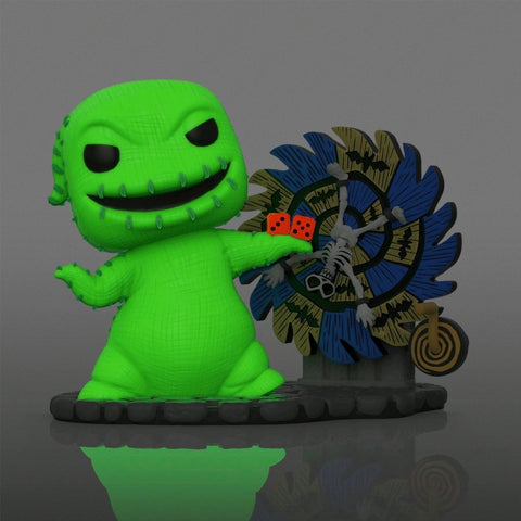 Nightmare Before Christmas Funko Pop! Deluxe Oogie Boogie (with Spinwheel) (Pre-Order)