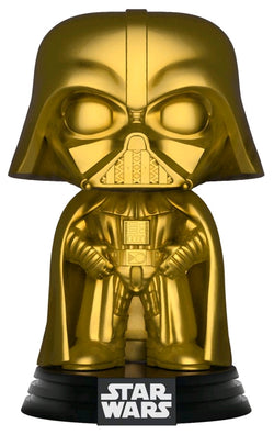 Star Wars Funko Pop! Darth Vader (Gold Metallic) (Pre-Order)