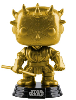 Star Wars Funko Pop! Darth Maul (Gold Metallic) #09 (Pre-Order)