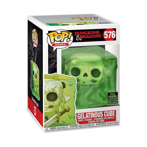 Dungeons & Dragons Funko Pop! Gelatinous Cube (Shared Sticker) #576 (Pre-Order)