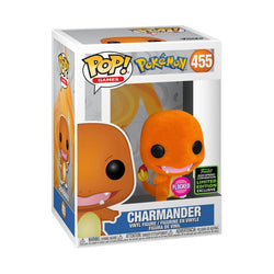 Pokemon Funko Pop! Charmander (Flocked) (Shared Sticker) #455 (Pre-Order)