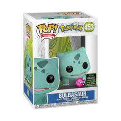 Pokemon Funko Pop! Bulbasaur (Flocked) (Shared Sticker) #453 (Pre-Order)