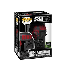 Star Wars Funko Pop! Boba Fett (Futura Black/Red) (Shared Sticker) #297 (Pre-Order)